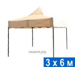 Раздвижной шатер 3х6 м усиленный каркас
