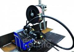 El tractor HK8-SS-L de soldar con el mecanismo empotrado de la presentación y el oscilador para la soldadura MIG/MAG
