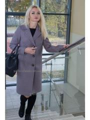 Пальто женское однобортное Rinna Rossi 7060 прямого силуэта