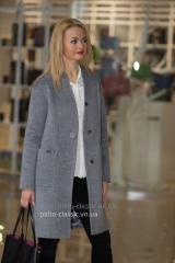 Модное молодёжное женское пальто VAM m-530,