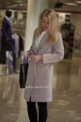 Женское утеплённое пальто VAM m-512