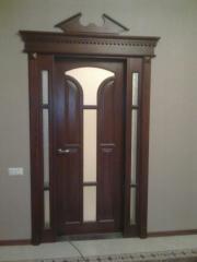 Doors are wooden interroom