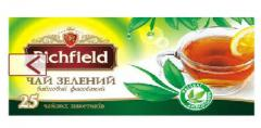 Green tea Richfield long leaf packed up by
