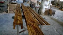 Деревянные  балки из сосны 180х150 мм....