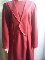 Платье габардиновое погребальное женское
