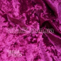 Fabric Velvet marble (crimson) 6199
