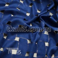 Fabric Suede streych textured (electro-blue) 6216