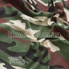 Ткань Кулир набивной в пачках камуфляж (CCE camo)