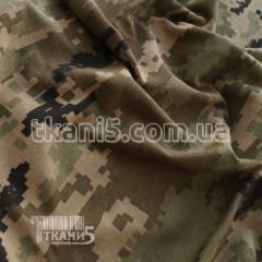 Ткань Кулир набивной в пачках камуфляж (Украинский
