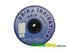 Капельная лента SantehPlast 1000м, расстояние капельниц 15 см, 8,5mil - Украина