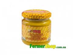 Мед з маточним молочком та пилком (230г)