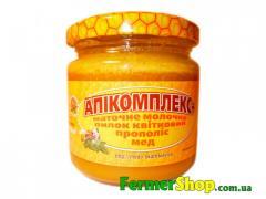 Апікомплекс плюс(мед, маточне молочко, пилок, прополіс), 230г