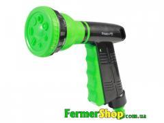 Пистолет поливочный 7 режимов пластиковый Green