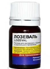 Лозеваль (противовирусный препарат) 10мл