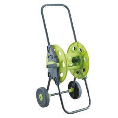 Катушка с колесами зеленая для шланга 1/2 45м