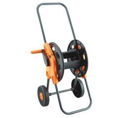 Катушка с колёсами черная для шланга 1/2 45 м