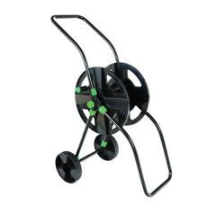 Катушка на колесиках черная для шланга 1/2 45 м