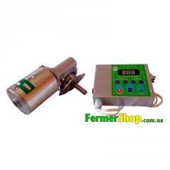 Привод медогонки электрический червячный с алюминиевым корпусом 12V
