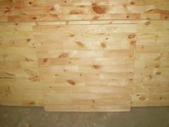 Furniture board, pine