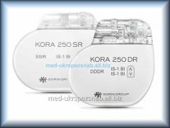 Pacemaker the implanted SORIN KORA 250 SR MRI