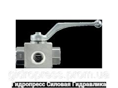 Шаровой кран 3-ходовой BK 3 T-образная форма ANSI B 2.1 PTFE - FKM, Нержавеющая сталь Rubrik 13.15