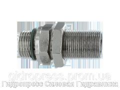 Прямое переборочное соединение, нержавеющая сталь Rubrik 5.59