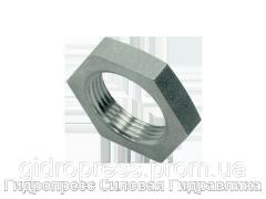 Контргайки для переборочных резьбовых соединений - цилиндрическая резьба, Нержавеющая сталь Rubrik 5.58