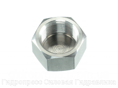 Заглушки шестигранные NPT - внутренняя резьба, Нержавеющая сталь Rubrik 5.56