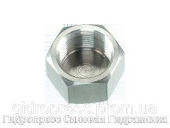 Заглушки шестигранные BSP - цилиндрическая - внутренняя резьба, Нержавеющая сталь Rubrik 5.55