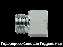 Заглушка шестигранная BSP - внешняя / внутренняя резьба - Form B, Нержавеющая сталь Rubrik 5.48
