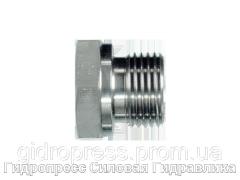 Заглушки - BSP - цилиндрическая резьба с внешним шестигранником, Нержавеющая сталь Rubrik 5.46