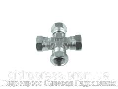 Крестообразное соединение, К-образный адаптер - BSP - внутренняя резьба, Нержавеющая сталь Rubrik 5.25