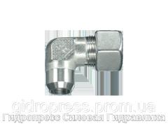 Угловые резьбовые соединения WAS - с накидной гайкой типа SC, Нержавеющая сталь Rubrik 10.10