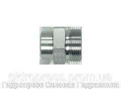 Прямые резьбовые патрубки ASV - без накидной гайки и врезного кольца, Нержавеющая сталь Rubrik 10.8
