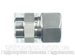 Прямые резьбовые соединения ASV - с накидной гайкой типа SC, Нержавеющая сталь Rubrik 10.7