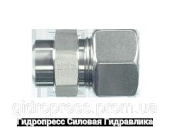 Прямые резьбовые соединения ASV - стандартное исполнение, Нержавеющая сталь Rubrik 10.6