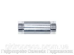 Переборочные резьбовые патрубки ESV - без накидной гайки и врезного кольца, Нержавеющая сталь Rubrik 10.5