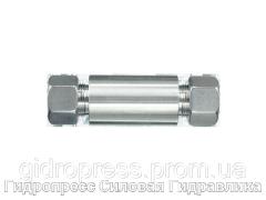 Переборочные резьбовые соединения ESV - с накидной гайкой типа SC, Нержавеющая сталь Rubrik 10.4