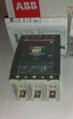 Автоматические выключатели ABB Tmax (с расцепителем PR221DS) : T2N 100А,  T2N 160А,  T5N 400A