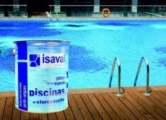 Paint for concrete basins, ponds, Isaval tanks