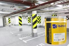 Paint for concrete floors of ISAVAL Duepol l