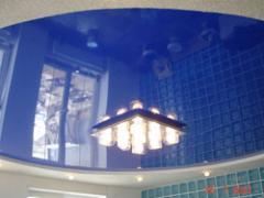 Stretch ceilings seamless, a stretch ceiling, a