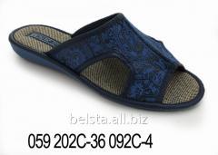 Женские тапочки 059 202С-36 092С-4