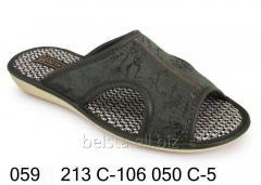 Женские тапочки 059 213С-106 050С-5