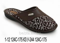 Женские тапочки 1-12 124С-175 КЗ У-244 124С-175