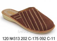 Женские тапочки 120 №313 202С-175 092С-11
