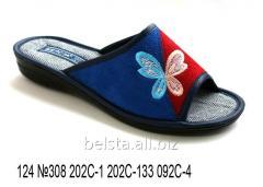 Женские тапочки 124 №308 202С-1 202С-133 092С-4