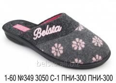 Женские тапочки 1-60 №349 3050С-1 ПНИ-300 ПНИ-300