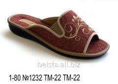 Женские тапочки 1-80 №1232 ТМ-22 ТМ-22