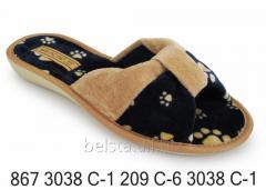 Женские тапочки 867 3038С-1 209С-6 3038С-1